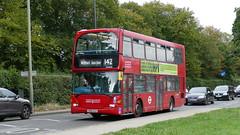 OmniHerts (londonbusexplorer) Tags: london sovereign ratp group scania n94ub east lancs omnidekka sle40631 yn55nju 142 brent cross watford junction tfl buses