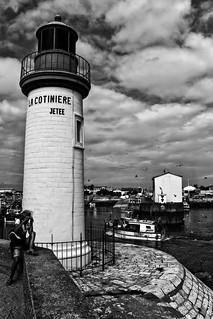 Port de pêche. Oléron. La photographe.
