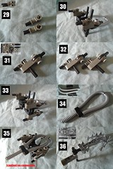 5 (Vahki6) Tags: lego bionicle rahi silver chute spider moc instructions