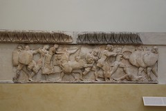 Frieze (demeeschter) Tags: greece delphi archaeological heritage historical ruins unesco parnassus mount ancient oracle museum art theatre stadium temple apollo