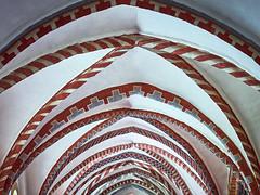 Ribs (Ulrich Neitzel) Tags: arches architecture architektur bogen cathedral cloister curves dom gewölbe kreuzgang mzuiko1240mm medieval olympusem1 ratzeburg romanesque romanisch vault