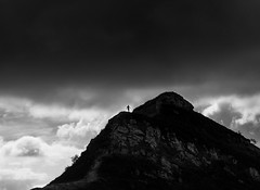 « I can feel his soul. » H Dariot 🐙   #mountains #trek #france #cloud #BW #men #explored (Lmagnier) Tags: mountains trek france cloud bw men explored