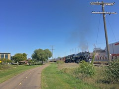 Zooming Through Hopkins (JBDPICS1) Tags: railroad train milwaukeeroad hopkinsminnesota