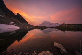 Rainier Tarn Sunset 10mm
