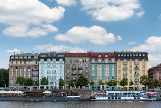 A View From The Vltava River