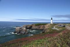 Yaquina Head Lighthouse (jlcummins - Washington State) Tags: oregon oregoncoast pacificocean pacificnorthwest ocean water