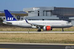 SAS Scandinavian Airlines --- Airbus A320 NEO --- SE-ROA (Drinu C) Tags: adrianciliaphotography sony dsc rx10iii rx10 mk3 mla lmml plane aircraft aviation airbus a320 neo seroa sas sasscandinavianairlines