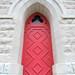 Clarksville, Tennessee - Trinity Episcopal Church Door