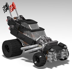 lego Gigahorse (mad max fury road) moc (KaijuWorld) Tags: lego moc custom cadillac mad max fury road gigahorse immortan joe truck ldd