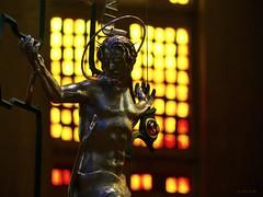 Tai Chi Rho (the mindful fox) Tags: crucifix jesuschrist westminsterabbey stainedglass