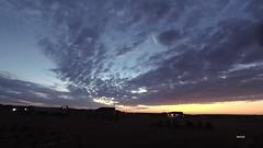 Near Perfect Sunrise_TL (northern_nights) Tags: timelapse sunrise colorful cheyenne wyoming altocumulus clouds sky sun yi4kactioncam crepuscularrays atmosphericoptics