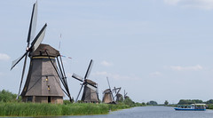 The Mills (LeeDylanLeeDyl) Tags: mills mill windmill windmills kinderdijk netherlands rotterdam amsterdam d3300 50mm 18 boat boats canal canals ship ships