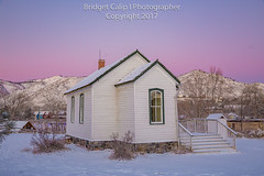 Guy Hill School Christmas Eve Morning (Bridget Calip - Alluring Images) Tags: 2017 alluringimagescolorado bridgetcalip clearcreek colorado jeffersoncounty winter dawn fog freshsnow frostytrees morning radiationcooling