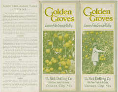 Golden Groves : Lower Rio Grande Valley (SMU Libraries Digital Collections) Tags: texas texan texana nick doffing company groves orchard orchards agriculture farm farming lower rio grande valley citrus promotional literature textreasures