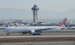 "Virgin Australia 777-3ZG(ER) (VH-VPD) ""Avalon Beach"" LAX Taxiway H  (1) (hsckcwong) Tags: virginaustralia7773zger 777300er 777300 vhvpd avalonbeach lax klax"