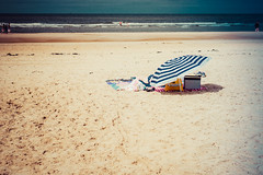 A day at the beach (erikvdlinden) Tags: female alone summer oneperson landscape sunbathing beach ankle relaxing afternoon streetphotography leg vacation colorimage adult sea colourimage