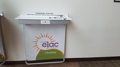 Library Charging Station (elaclibrary) Tags: charging phone phonecharging battery library elac plug chargingstation helenmillerbaileylibrary electricaloutlets cables
