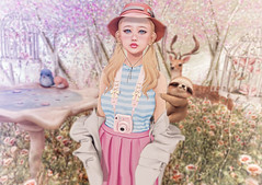 Sweet Adventures (Gabriella Marshdevil ~ Trying to catch up!) Tags: sl secondlife cute kawaii doll catwa bento mishmish sorumin beusy halfdeer pastel mudskin