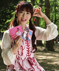 Cherrywoman (emotiroi auranaut) Tags: woman lady pretty cute adorable lovely beauty beautiful singer charming cherry japan japanese asia asian female feminine femininity