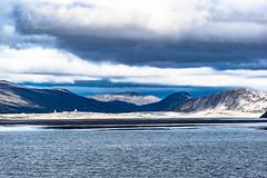 Airfield at the End of the Fjord (*Capture the Moment*) Tags: 2017 clouds cruise cruiseship elemente greenland grönland kangerlussuaq msdeutschland sonya7m2 sonya7mii sonya7mark2 sonya7ii sonyfe70200mmf28gmoss sonyilce7m2 wasser water wolken