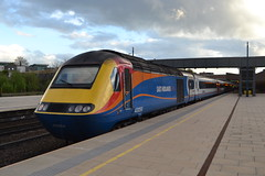 East Midlands Trains HST 43058 (Will Swain) Tags: london st pancras station 25th april 2018 emt stagecoach group train trains rail railway railways transport travel uk britain vehicle vehicles england english leicester high speed class 43 east midlands hst 43058 058 williamsdigitalcamerapics100