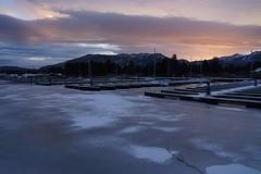 Frozen Marina (AgarwalArun) Tags: sony a7m2 sonyilce7m2 tahoe laketahoe lake landscape scenic nature views snow mountains sierra marina