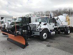City of Philadelphia, PA 2018 International Workstar 7400 SFA 4x2 hook-lift with mobile concrete mixer_1 (JMK40) Tags: international workstar 7400 cummins l9 allison minimax concrete mixer hooklift ampliroll city philadelphia pa highwaydepartment government municipal snow plow truck
