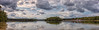 Panorama The Iron Man, Vught (BraCom (Bram)) Tags: 5fotospanorama bracom bramvanbroekhoven deijzerenman holland nederland netherlands noordbrabant northbrabant panorama vught beach bomen boom cloud clouds harbor haven jachthaven lake marina meer reflection sky strand tree trees water wolk wolken nl spiegeling