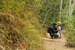 Grumpy Hiker, Pfeiffer Big Sur State Park (alexhouston) Tags: kids anna hiking jeff big sur trip 2018 labor day explorations vacation pfeiffer state park