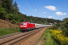 DB 120 111 - bei Schwäbisch Gmünd (Pau Sommerfeld Acebrón) Tags: