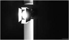 Turn on the lights (frankdorgathen) Tags: alpha6000 sony sony18200mm minimalism minimalistic monochrome blackandwhite schwarzweiss schwarzweis ruhrpott ruhrgebiet rüttenscheid essen folkwang museum elektrizität electricity licht light