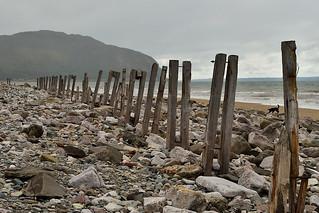 A grey day on Conwy Beach
