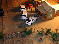 Sheriff's log 9/17/2018 (THE RANGE PRODUCTIONS) Tags: greenlight subaru johnnylightning fordpoliceinterceptorutility dioramas diecast diecastdioramas dodgechargerpursuit fordpoliceinterceptor 164scale toy model modular