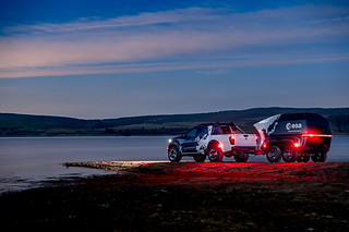 Nissan Navara 'Dark Sky' concept vehicle and bespoke off-road trailer