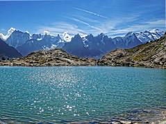 Lac Blanc (Manon Ridet) Tags: montagne montblanc mountain rhônealpes randonnée rocher nature hautesavoie chamonix france paysage panorama lac eau