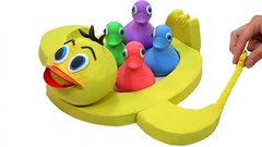 How To Make Kinetic Sand Duck Boat w Learn Colors Play Doh Nursery Rhymes Song for Kids (Hoàng Đồng) Tags: baby children colors diy funtoys how kids learn learncolors learncolours learning learningvideo surprisetoys toys videoforkids ziczic