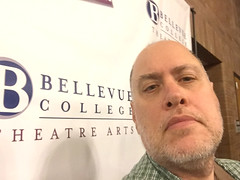 Day 2412: Day 222: Theatre Arts (knoopie) Tags: 2018 august iphone picturemail bellevuecollege theatrearts theater doug knoop knoopie me selfportrait 365days 365daysyear7 year7 365more day2412 day222