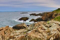 Nahant cliffs, East Point (ole_G) Tags: nahant eastpoint boston