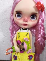 salomé (ninim.oo.n) Tags: blythedoll factory tbl custom ooak pinkhair azone pureneemo