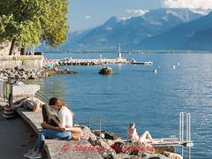 """""""Millennials"""" (Stefano Procenzano) Tags: vevey cantonvaud svizzera ch vd nikon nikkor nikond750 d750 24120mmf4 24120mm f4 people persone lacléman lagodiginevra lac lago millennials"""