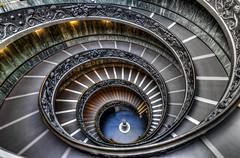 Vatican Museum Stairs (stevefoltinek) Tags: vatican stairs treppen vatikan rom rome museum healix
