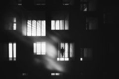 ...withinreachthelight... (*ines_maria) Tags: window building night light people city seamless texture block front wall facade dark many abstract illuminated architecture old pattern evening dusk black big background concrete construction constructivism design downtown man exterior flats home person housing large life living behing outdoors scene social structure urban view work singapore panasonicdcgh5 mponochrome bw blacketnoire reflection