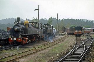 CP E151+ CP E96-Livração, Portugal, 19 September 1973