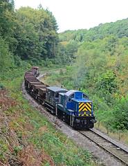 Forest Freight. (curly42) Tags: d9521 class14 preservedhydraulicloco dfr transport railway deanforestrailway dfrdieselgala2018