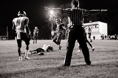 Incomplete (raymorgan4) Tags: american football illinois high school touchdown official no score extra point field line ground turf soil fumble pass nfl gridiron first down