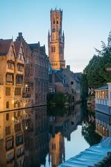 Bruges, Belgium-01730 (gsegelken) Tags: belgium bruges vantagetravel canal night