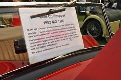 1952 MGTD (3) (Gearhead Photos) Tags: jaguar e type mga mgb mgtc mgc gt english cars british delorean mgf xk xj xjs xf v8 ford cortina austin healey morgan plus 4 convertible 120 140 150 waterfront park north vancouver bc canada