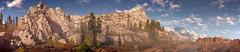 Horizon Zero Dawn (Matze H.) Tags: horizon zero dawn complete edition frozen wilds screenshot panorama wallpaper uhd 4k mountains clouds skly desert snow photo mode playstation 4 pro