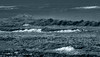 The Rough Waves (Steve Taylor (Photography)) Tags: blue monocolor monocolour newzealand nz southisland canterbury christchurch northnewbrighton waves sea pacific ocean shiny texture