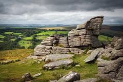Yar Tor (Rich Walker75) Tags: tor dartmoor devon landscape landscapes landscapephotography landmarks canon sky cloud clouds england efs1585mmisusm eos eos80d sun grass hill field fields rock rocks
